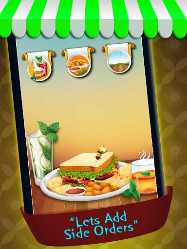 Sandwich Maker Cooking Games
