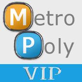 MetroPoly VIP Blue