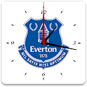 Everton FC Analog Clock icon