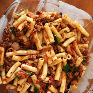 Meat Sauce And Rice Recipes.