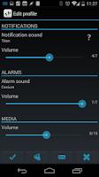 Screenshot of Smart Sound Profiles