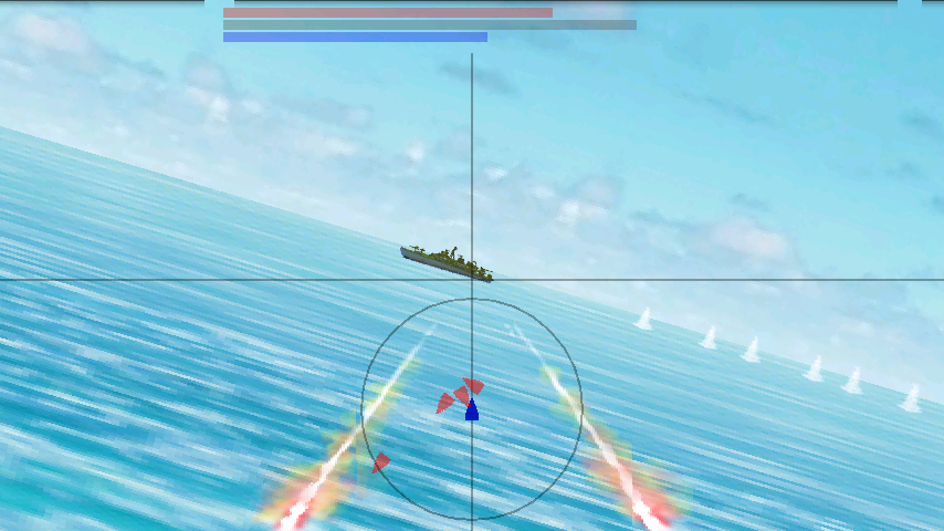 BATTLE IN BLUE- screenshot