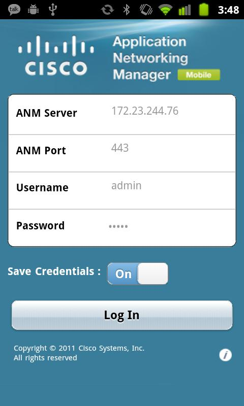 ANM Mobile - screenshot