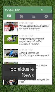 Pocket Liga - Fussball Live - screenshot thumbnail