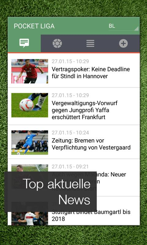 Pocket Liga - Fussball Live - screenshot