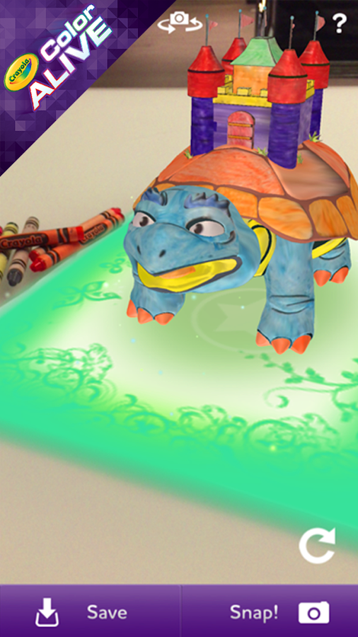 crayola color alive screenshot