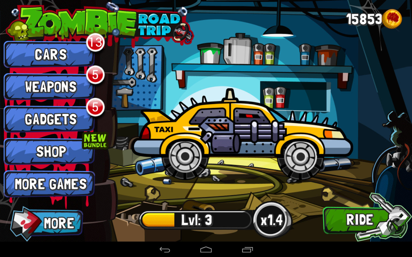 Zombie Road Trip- screenshot