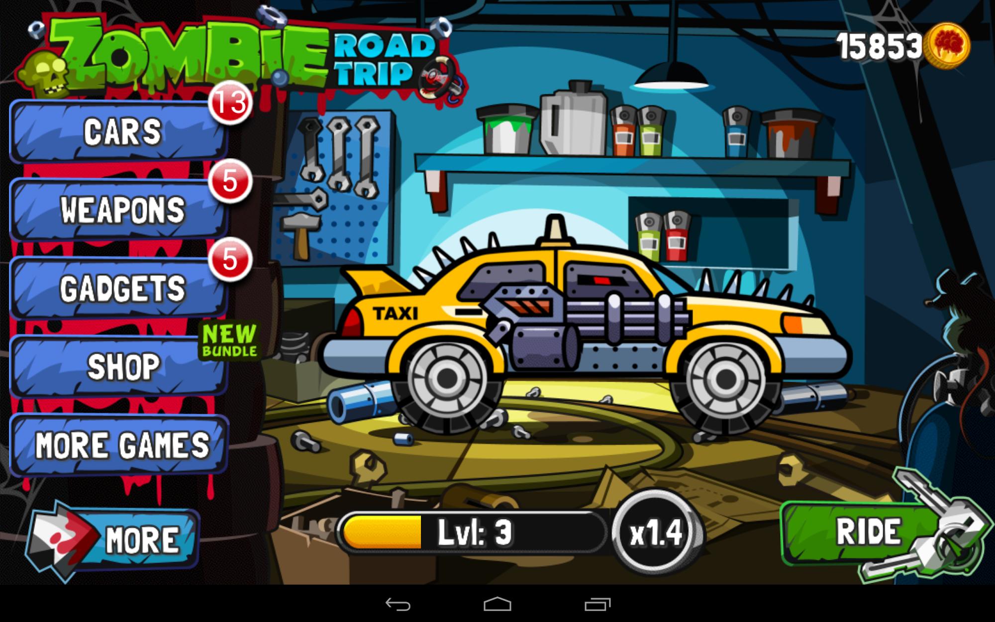 Zombie Road Trip screenshot #8