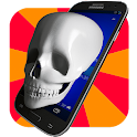 Skull 3D Gyro Live Wallpaper icon