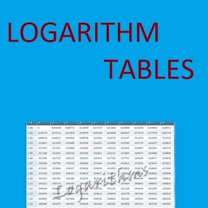 App Logarithm Tables - Maths APK