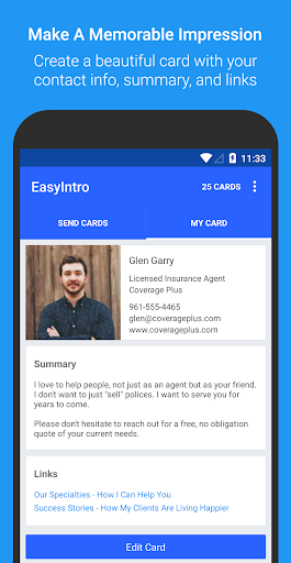 EasyIntro Smart Business Card