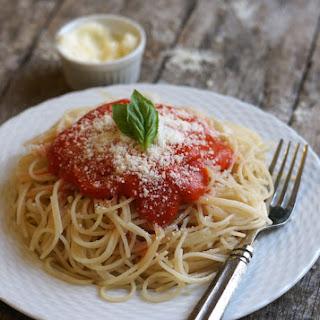 Tomato-less Marinara Sauce (Nightshade-free, AIP-friendly).
