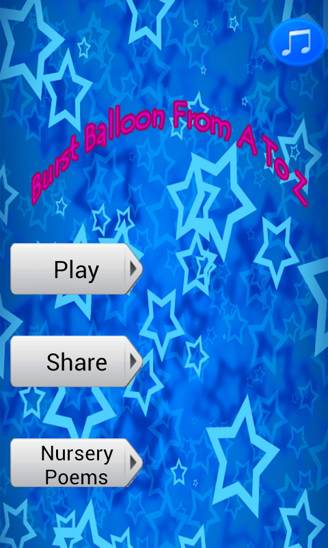 ABCD Balloon game/Learn ABCD- screenshot