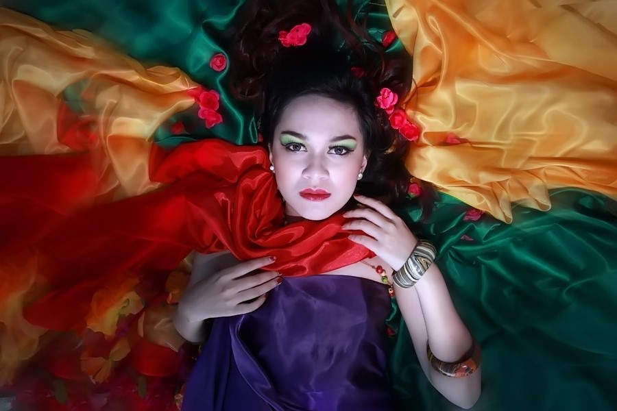 coloursfantasy by Deki Jhow - People Portraits of Women