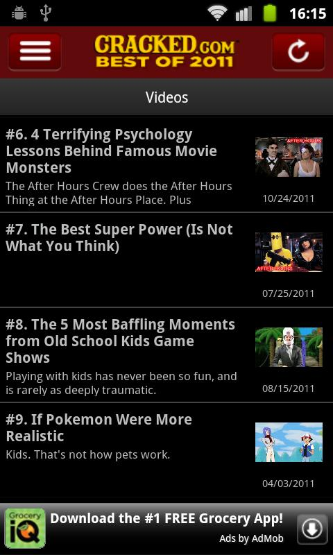 Best of Cracked Vol. 1 - screenshot