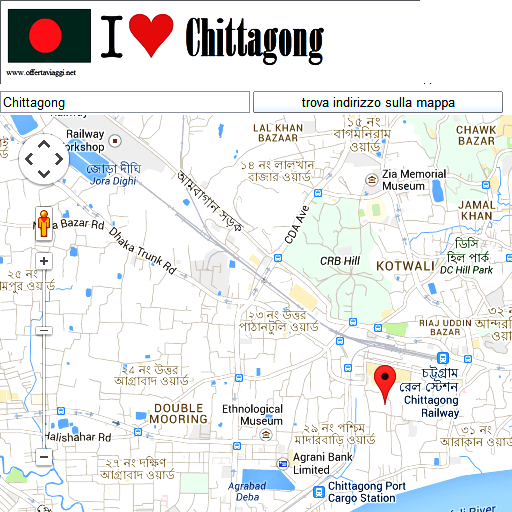 Chittagong maps