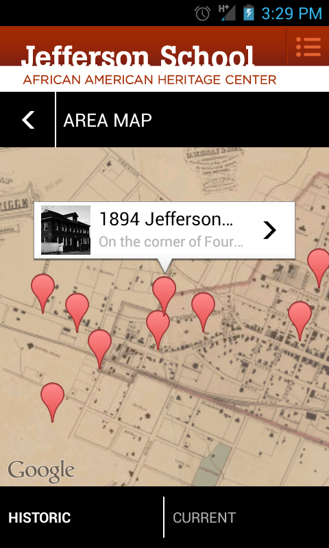 Jefferson School Walking Tour - screenshot