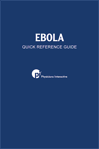 Ebola QRG for Physicians