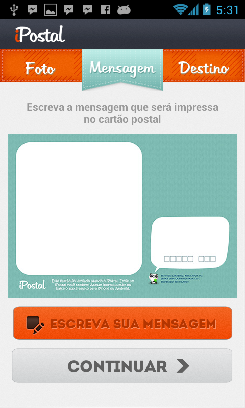iPostal- screenshot