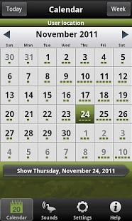 Hunting Calendar Lite - screenshot thumbnail