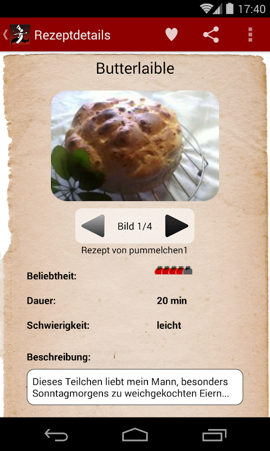 Kochmeister 60.000 Rezepte- screenshot