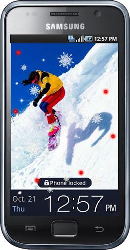 Snowboard Sport live wallpaper