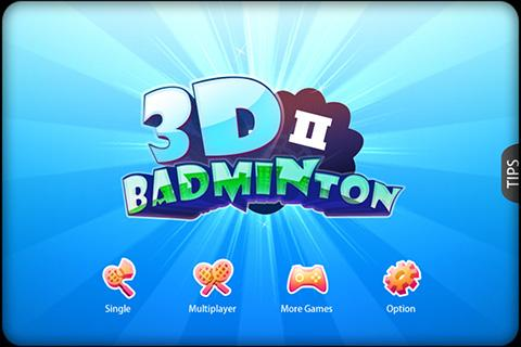 3D 羽毛球 II