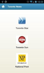 Greater Toronto Area News - screenshot thumbnail
