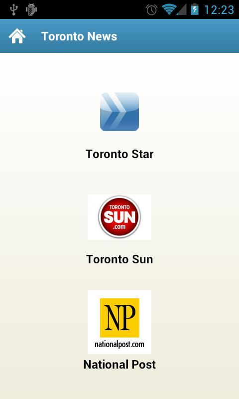 Greater Toronto Area News - screenshot