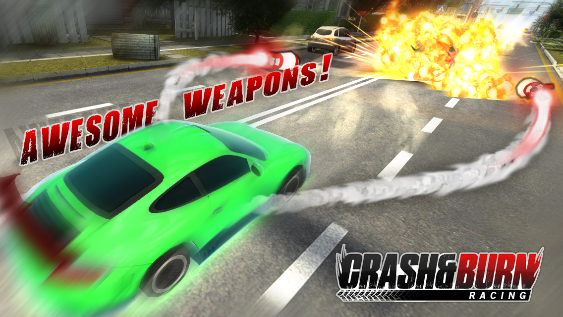 Crash and Burn Racing screenshot #4