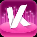 KK唱响—华语传媒音乐大奖直播,与明星互动,看美女视频 icon