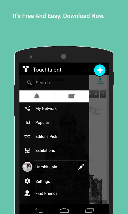 Touchtalent - Stay Creative- screenshot