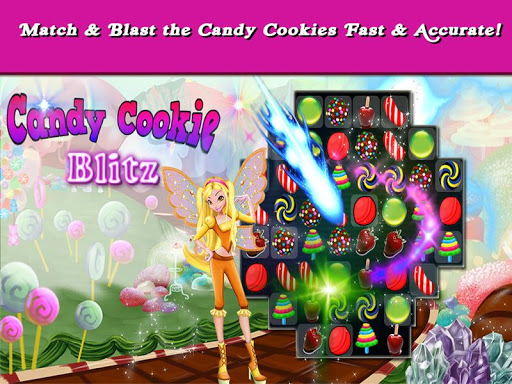 Candy Cookie: Blitz Free