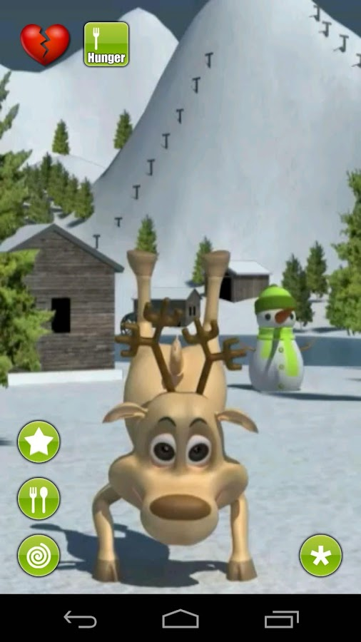 Talking Prancer Reindeer - screenshot