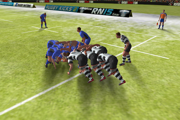 Rugby Nations 15 - tela