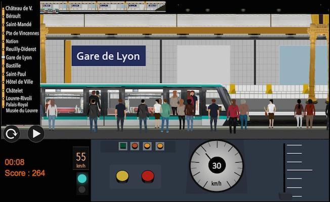 android Paris Métro Simulator Screenshot 2