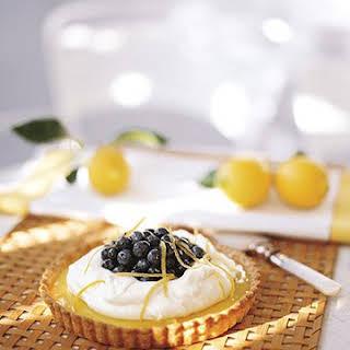 Lemon-Blueberry Tart.