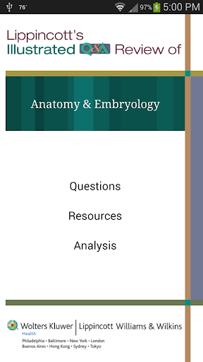 Anatomy Embryology Q A Review