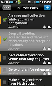 WEDDING PLANNER screenshot 1