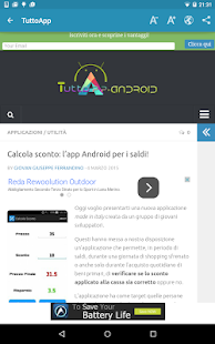 Notizie su Android - screenshot thumbnail