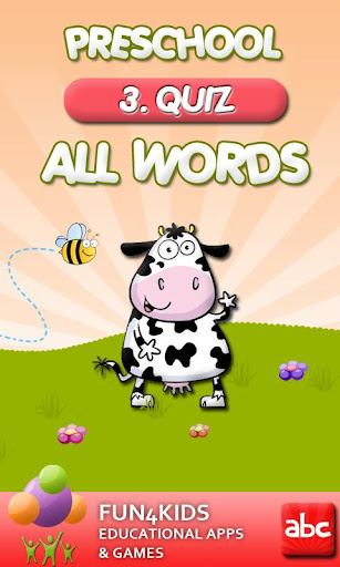 Kids Preschool All Words 3
