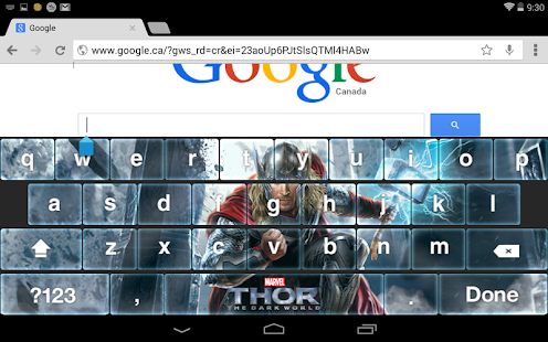 Thor: The Dark World Keyboard