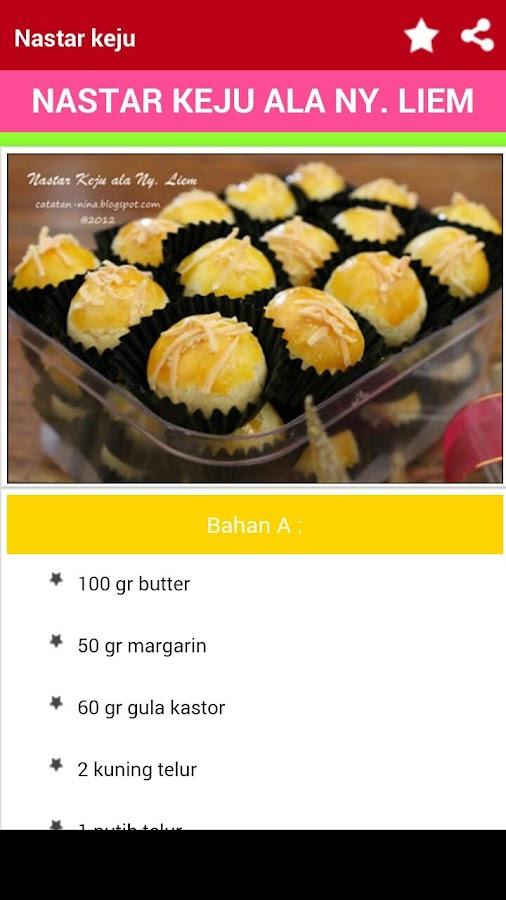 Resep Kue Nastar - Android-apps op Google Play