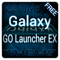 Blue Galaxy GO Launcher Theme icon