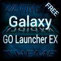 Blue Galaxy GO Launcher Theme icon
