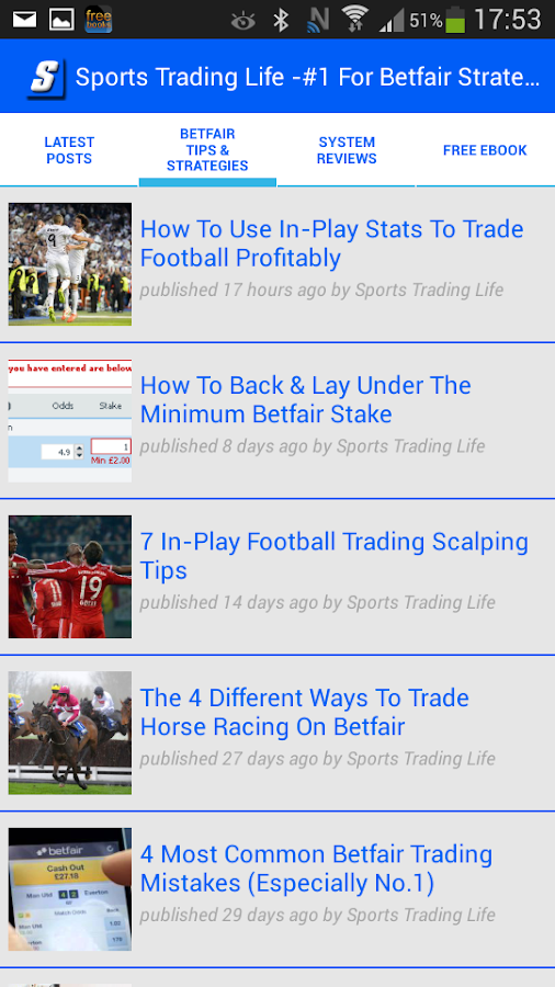 Horse trading on betfair strategies