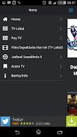 Screenshot of Jadwal TV