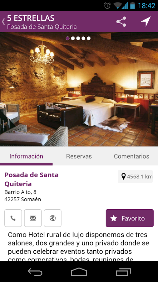 App Soria Guide Soria- screenshot