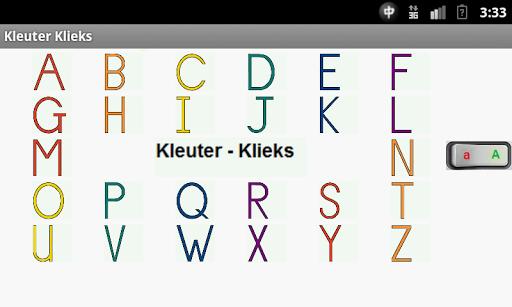 Kleuter-Klieks Alfabet
