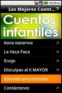 Los Mejores Cuentos Infantiles- screenshot thumbnail